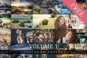 20 Free Lightroom Presets from ShutterSweets
