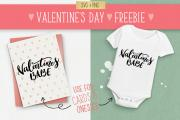 Valentine's Day Typography SVG Quote