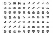 80 Office Icons