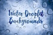3 Water Droplet Backgrounds
