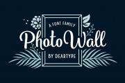 Photowall Font Family