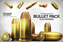 Free 3D Bullet Renders Pack