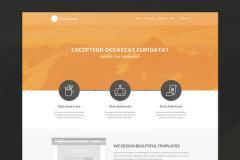 Design an Amazing Flat Website in Photoshop