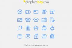 20 Exclusive Gift Icons