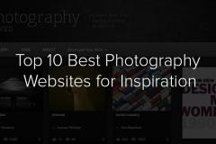 Top 10 Best Photography Inspiration Sites