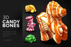 CandyBones - Photoshop 3D Objects