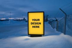 Outdoor Ads Billboard PSD Mockup