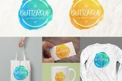 Create a Custom Feminine Watercolor Logo