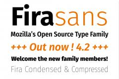 FiraSans Open Source Typeface