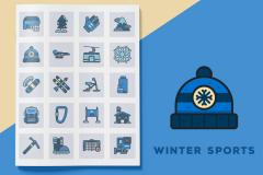 Free Winter Sports Icons