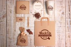 Coffee Branding and Identity Mockups