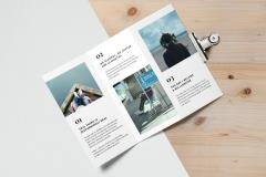 Tri Fold Brochure Mockup #2
