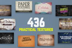 Limited Time: The Practical Pack of 436 Impeccable Textures