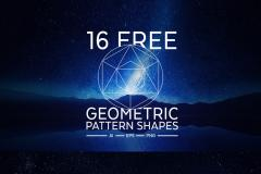 16 Free Geometric Pattern Shapes