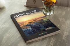 Realistic Catalog PSD Mockup
