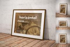 Vintage Framed Posters Mockup Set