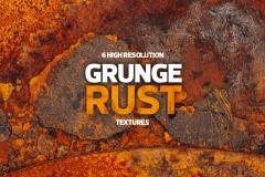 6 Grunge Rust Textures