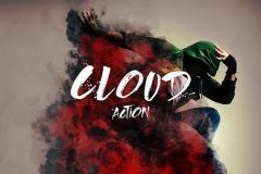 Cloud Effect Photoshop Action