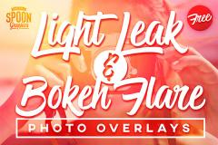 30 Light Leak and Bokeh Overlays