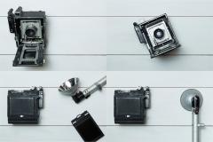 4 Vintage Camera Photos