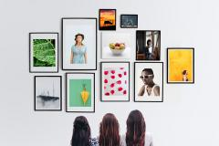 Photo Frames Gallery Mockup