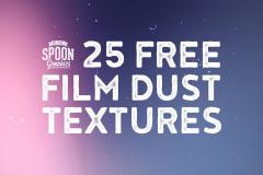 25 Film Dust Textures