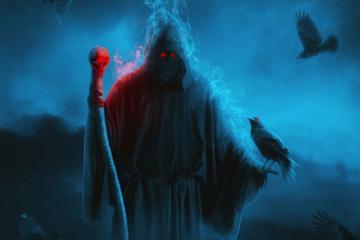 Create a Dark Grim Reaper Scene for Halloween in Photoshop