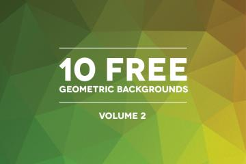 10 Free Polygonal Background Textures