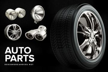 Auto Parts 3D Render Pack