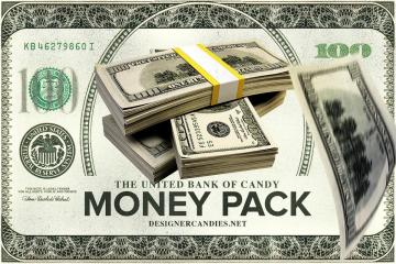 Money Stacks & Falling Money Pack