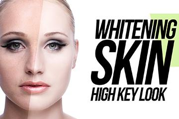 "Whitening Skin in Photoshop ""High Key look """