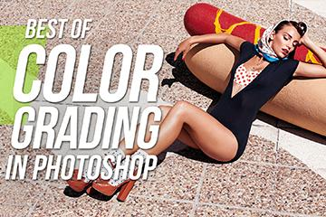 "Color Grading In Photoshop "" Best of Four"""
