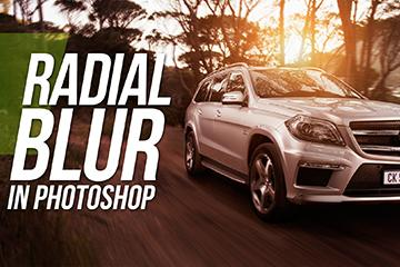 Photoshop Car Tutorial - How To Blur Wheels With Radial Blur