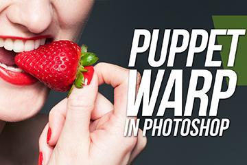 Puppet Warp Tool In Photoshop