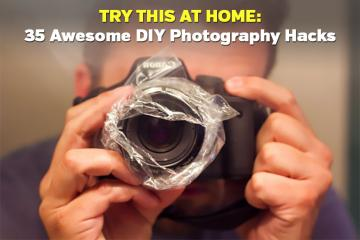 Try This at Home: 35 Awesome DIY Photography Hacks