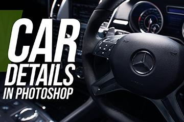 Retouching A Car Interior In Photoshop
