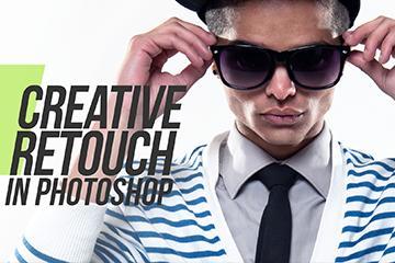 Creative Photoshop Manipulation Tutorial - White