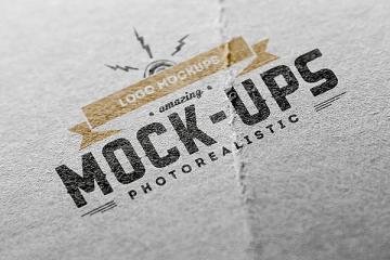 Logo MockUps - Paper Edition