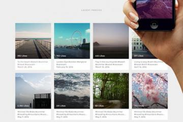 Designing a Simple Instagram Based Portfolio in Photoshop