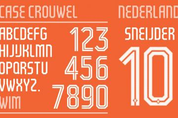 World Cup 2014 Fonts by Nike