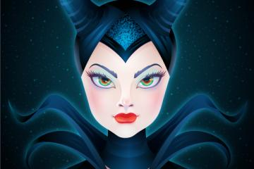 Create the Enchanting Maleficent Portrait in Adobe Illustrator