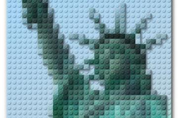 Transform a Photo into a LEGO Block Piece of Art in Adobe Photoshop