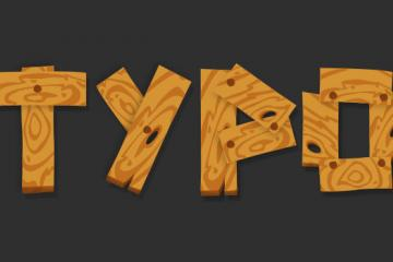 Create a Wood Planks Typo with a Custom Pattern in Illustrator