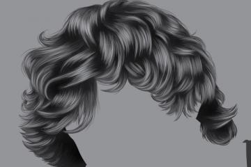 How to Render Short, Detailed Hair in Adobe Illustrator