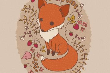 How to Create a Hand Drawn Fox Illustration in Adobe Illustrator