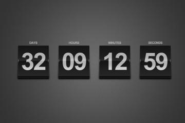 Create a Sleek Countdown Timer Photoshop Tutorial