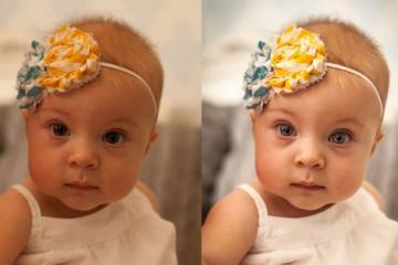 Natural Light Baby Portrait Editing Lightroom Workflow