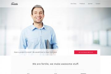 Fertile HTML5 Portfolio Template