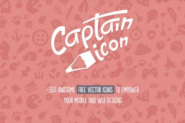 Captain Icon: 350 Vector Icons