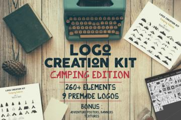Logo Creation Kit Camping Edition